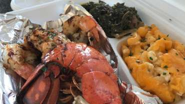 Soul to Sea, after the fire, the food is still smokin good!